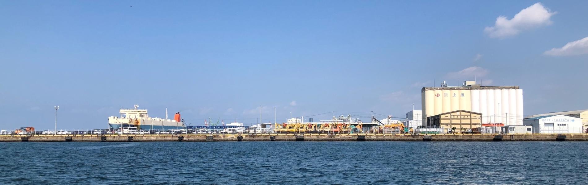 箱崎の岸壁